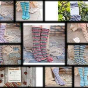 Country Birds Luxury Sock Collection